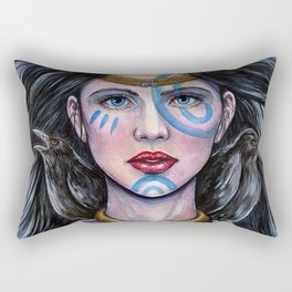 The Morrigan Rectangular Pillow
