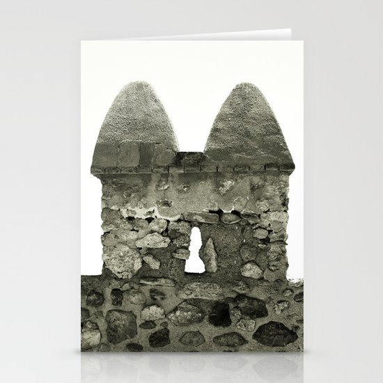 Castle tops... Stationery Cards