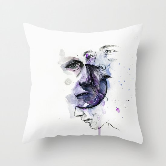 lacking stabilty Throw Pillow