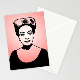 Joan Crawford | Hollywood Royalty | Pop Art Stationery Cards
