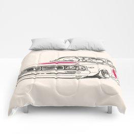 Crazy Car Art 0166 Comforters