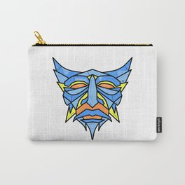 Blue Robot Carry-All Pouch
