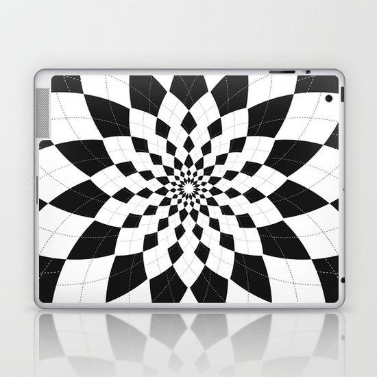 Black & White Argyle Laptop & iPad Skin