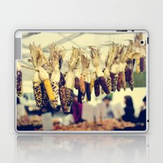 Indian Corn at the Farmers Market Laptop & iPad Skin