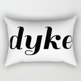 dyke pride Rectangular Pillow