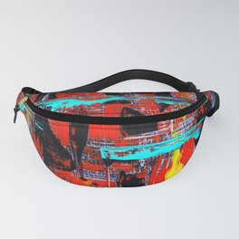 Reflections On 10th Street Fanny Pack
