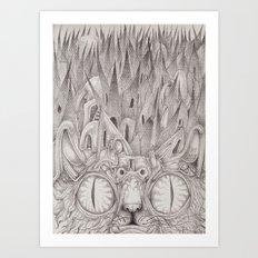 Abeng Art Print