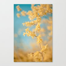 I Dream In Yellow Canvas Print