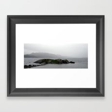 small island near stavanger, norway. Framed Art Print