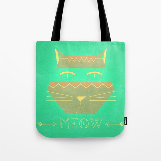 almost in cognito meow Tote Bag