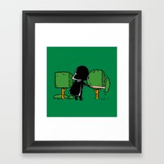 Part Time Job - Gardening Framed Art Print