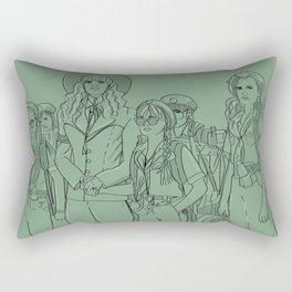 Troop 332 Beverly Hills Rectangular Pillow