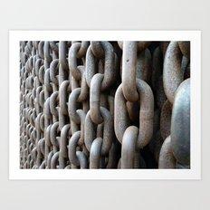 Chains #1 Art Print