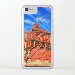 Gilbert's Feed Co. – Oakdale, California, USA Clear iPhone Case
