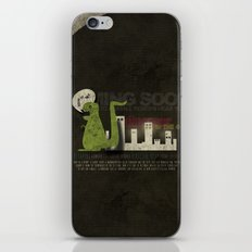 Dinosaur in the City iPhone & iPod Skin