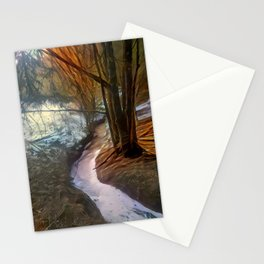 Late Wintrous Brook Stationery Cards