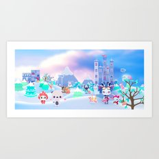 Best Xmas ever Art Print