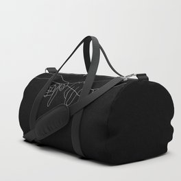 Black Pinky Swear Duffle Bag