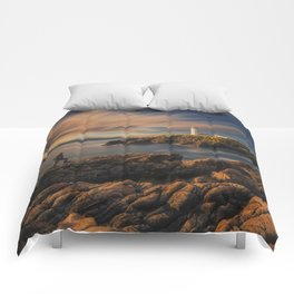 On The Rocky Outcrop Comforters