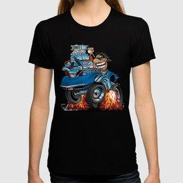 Classic '69 American Sports Car Cartoon T-shirt
