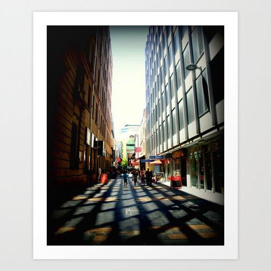 Australian Capital Cities - Adelaide - South Australia Art Print