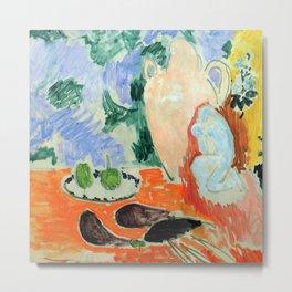 Henri Matisse Still Life with Eggplants Metal Print