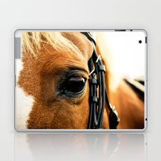 a horse's kind eyes. Laptop & iPad Skin