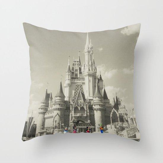 Walt Disney World Throw Pillow