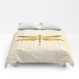 Antique Art Nouveau Dragonfly Comforters