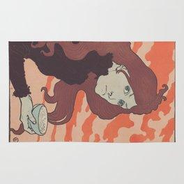 Vintage poster - La Virioleuse Rug