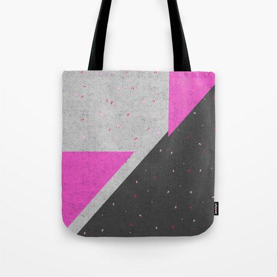Geometric Shapes Pattern Tote Bag