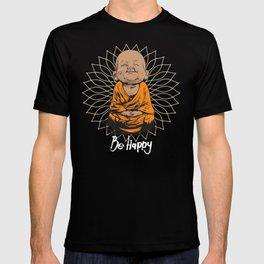 Be Happy Little Buddha T-shirt