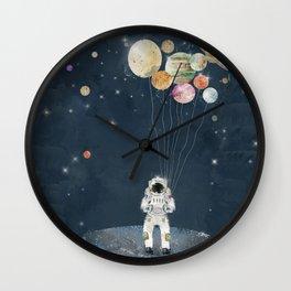 solar collector Wall Clock