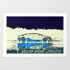 Need for SPEED Art Print