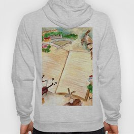 Books and imagination Hoody
