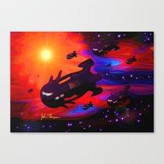 Space Armada Canvas Print