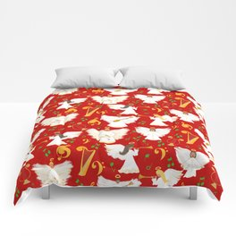 Christmas Angels Comforters