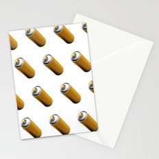 Golden Spray Can Pattern Stationery Cards