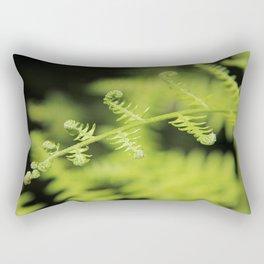 Unfurling Fern Rectangular Pillow