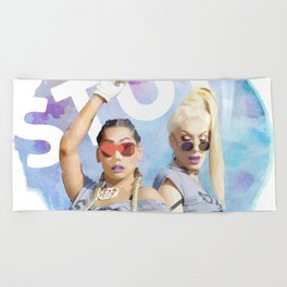 Stun Beach Towel