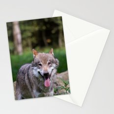 Canis Lupus Lupus III Stationery Cards
