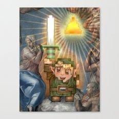 IRL Zelda Link Canvas Print