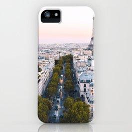Paris City iPhone Case