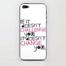 Challenge iPhone & iPod Skin