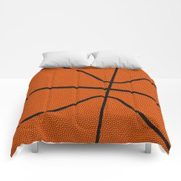 Fantasy Basketball Super Fan Free Throw Comforters