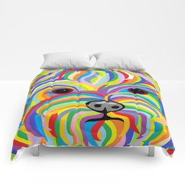 Yorkie Comforters
