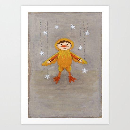 I'm A Duck Quack Quack Art Print