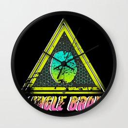 jungle brain (save our dreams) Wall Clock