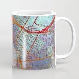 Lima Peru Street Map Urban Coffee Mug