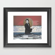 Glory Days Framed Art Print